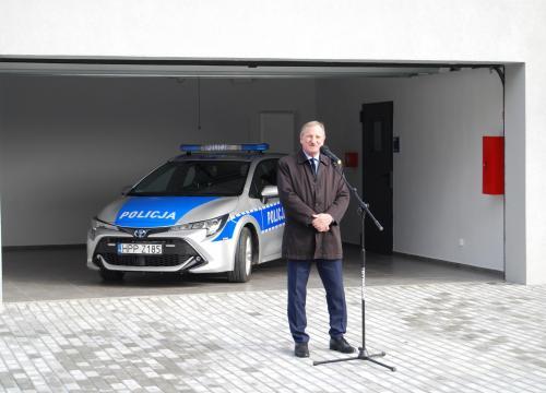 Uroczyste otwarcie Posterunku Policji w Milówce 7.10.2019